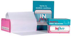 MODULO CARTA BIANCA  24X11 2 PARTI CARTA CHIMICA STACCABILI CF.1000