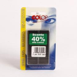 TAMPONCINO RIC.COLOP PR15 NERO BL.2
