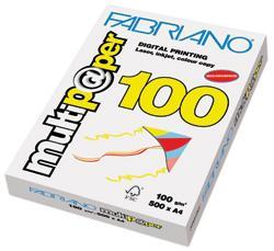 CARTA PER FOTOCOPIE MULTIPAPER A4 GR.100 FOGLI 500