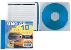 ALBUM PORTA CD 12X12 20 POSTI