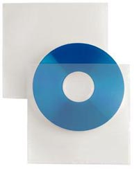 BUSTA PORTA CD SELFTI 1/PAD.RETRO ADESIV O CF.25