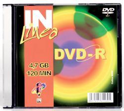 DVD-R IN UFFICIO 120 MIN 4,7GB 4X SLIM