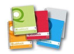 BLOCCO QUABLOCK 21X29 SPIRALE 120FF 1R