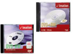 DVD +RW IMATION RISCRIV.4X 4,7GB