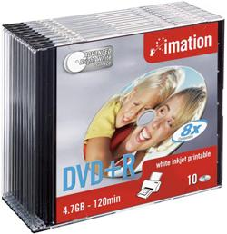 DVD +R IMATION PRINT 16X4,7GB CF10