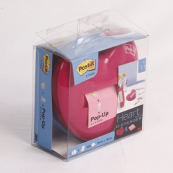 DISPENSER X POST-IT Z-NOTE CUORE