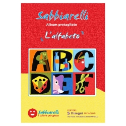 ALBUM DISEGNO L'ALFABETO 15X20