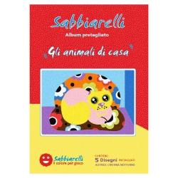 ALBUM DISEGNO GLI ANIMALI DI CASA 15X20