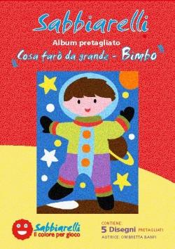 ALBUM DISEGNO COSA FARO' DA GRANDE BIMBO  15X20