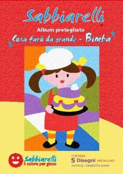 ALBUM DISEGNO COSA FARO' DA GRANDE BIMBA  15X20