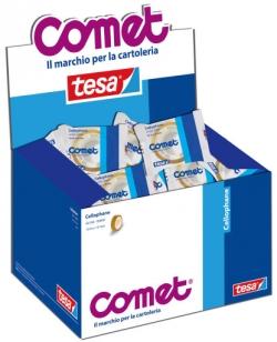 NASTRI ADESIVI.CELLO 15X10 TESA/COMET CF.10