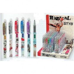 PENNA GEL NIJI RADICAL GLITTER ART.4389 SET PZ.12