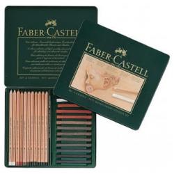 SET METALLO FABER-CASTELL PITT CF.25