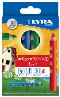 PASTELLO LYRA GROOVE TRIPLEONE GIALLO CF.6