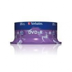 DVD+R VERBATIM CAMPANA 25 PZ 16X 4,7GB