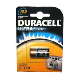 PILE DURACELL ULTRA FOTO3V BLOCCO