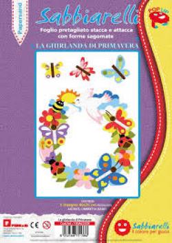 ALBUM DECORAZIONE PAPERSAND LA GHIRLANDA  DI PRIMAVERA 26X40