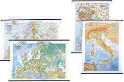 CARTINA MURALE ITALIA STRAD.100X130