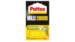 BIADESIVO PATTEX MILLECHIODI MM.40X20 CF.10 STRISCE