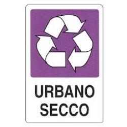 CARTELLO SEGNALETICO ADESIVO URBANO SECCO 30X20