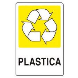 CARTELLO SEGNALETICO ADESIVO PLASTICA 30X20