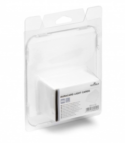 TESSERE STAMPABILI DURABLE PVC 54X85,6 X DURACARD ID 300 SP.0,50 MM CF.100