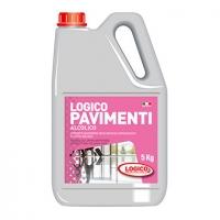 DETERGENTE LOGICO PAVIMENTI ALCOLICO LT5
