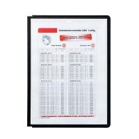 BUSTA SHERPA DURABLE A4 VERTICALE7/ ORIZZONTALE CF.5 PZ. NERO