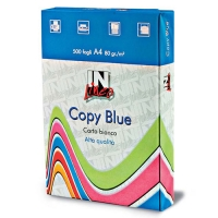 RISMA CARTA COPY BLUE A4 80 GR 500 FOGLI