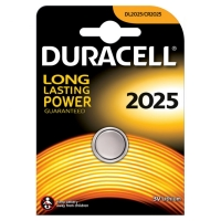 PILE MINI AL LITIO DURACELL CR 2025