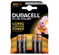 PILE DURACELL MINI STILO 1,5V CF.4 AAA PLUS