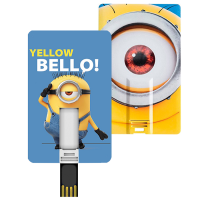 CARD USB 8GB MINIONS BELLO