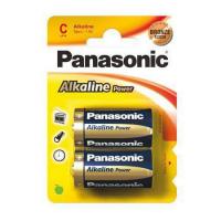 PILE PANASONIC M/TORCIA 1,5 V BL2 LR14 ALKALINE POWER