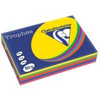 RISME FOTOCOPIE TROPHE A4 GR.80 FF.500 ASSORTITI INTENSI