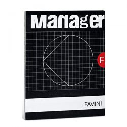 BLOCCO MANAGER 21X29 FF90 10MM FAVINI