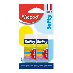 GOMMA SOFTY MAPED BLISTER CF.2