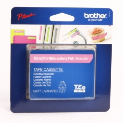 NASTRI BROTHER 12MM TZ-MQP35 BCO/ROSA