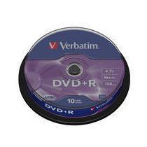 DVD+R VERBATIM CAMPA.10PZ 16X 4,7GB