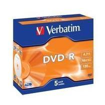 DVD-R VERBATIM JEWEL 16XCF.5