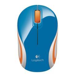 MOUSE LOG. MINI WIRELWSS BLUE 910-002733