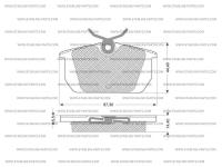 Kit Pastiglie Freni (4 Pezzi)