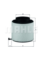 FILTRO ARIA LX 2092D AUDI A4/5 2.7 3.0 TDI
