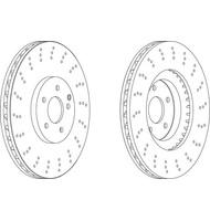 Kit disco freno (2 pezzi)