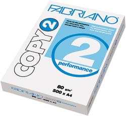 CARTA PER FOTOCOPIE A4 GR.80 FOGLI 500 FABRIANO COPY 2