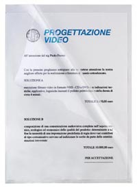 CARTELLA APERTURA LATERALE 22X32 13 IN POLIPROPILENE LUCIDO CF.50