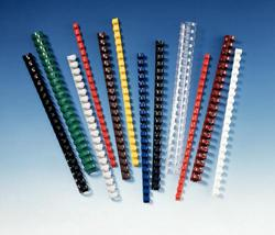 SPIRALE FELLOWES PLASTICA MM12 CF.25 BLU