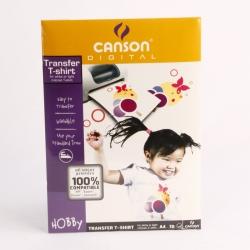 CARTA INKJET CANSON T-SHIRT A4 G140 FF10