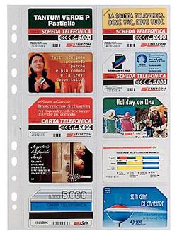 BUSTA PORTA CARDS 22X30 10 SCOMPARTI CF.10