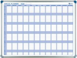LAVAGNA PLANNING NOBO ANNUALE 90X60 MAGNETICO
