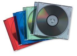 CUSTODIA CD FELLOWES SLIM COLOR CF.25